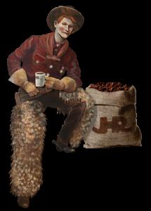 cowboy_burlap-bag